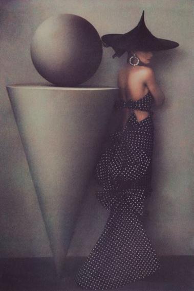 © Sheila MetznerUma. Patou Dress 1986