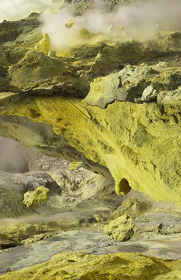 Michael Najjar: volcanic resublimation, 2018
