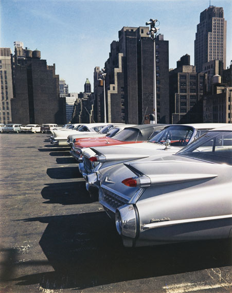 © Estate Evelyn Hofer, Car Park, New York, 1965, Galerie m, Bochum