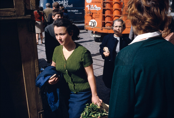 Joel Meyerowitz, Malaga, Spain, 1966 © Joel Meyerowitz
