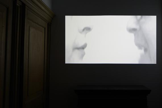 """Mariateresa SartoriÉtude n. 10 in B minor, op. 25. Homage to Chopin. Dedicated to Roman Opalka2011, Video, 7'40"""", b/w, sound, courtesy the artist, Michela Rizzo Gallery and Studio G7 Gallery.Courtesy Fondazione Querini Stampalia, Venezia"""
