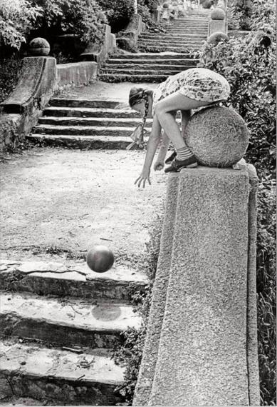 Old staircase 1978 © Gennady Bodrov