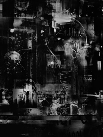 Valérie Belin, Lights on Lexington, 2019, Pigment print,purchase funded by the V&A Photographs Acquisition Group © Valérie Belin