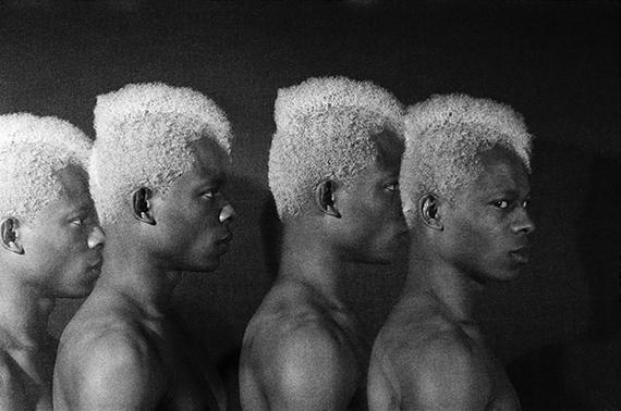 Rotimi Fani-Kayode, Four Twins, 1985. © Rotimi Fani-Kayode/ Autograph ABP. Courtesy of Autograph ABP.