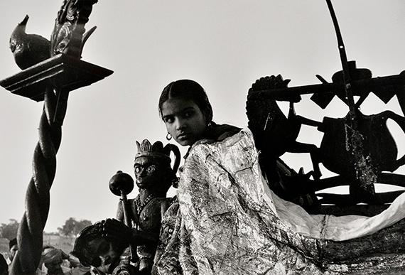 Ganpati Puja à Bombay, Inde, 1955. Denis Brihat