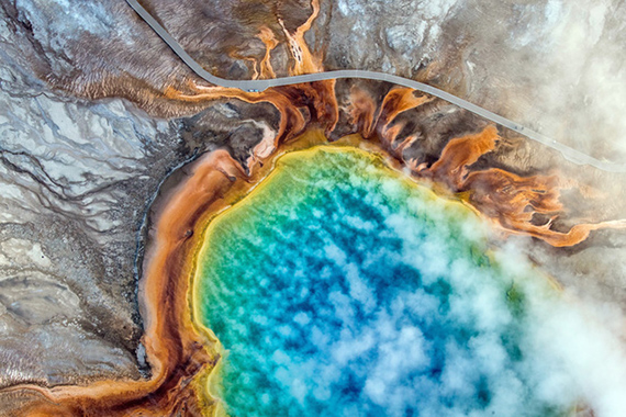 Grand Prismatic Spring, Yellowstone National Park, United States, Josh Haner / The New York Times.