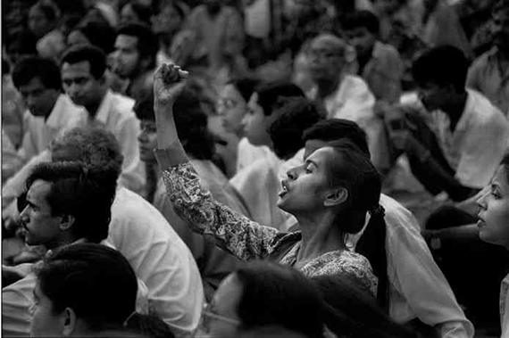 Shahidul Alam (b. 1955, Dhaka, Bangladesh); Smriti Azad, Dhaka; 1994; photograph courtesy of Drik.