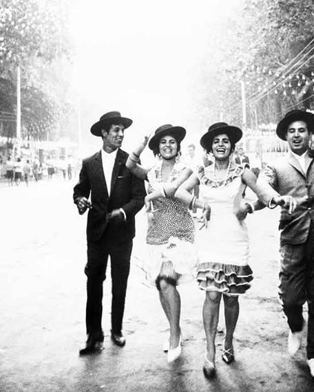"""Fiesta—Sevilla or Málaga"" from the series España Gran Tarde, 1963-65 © Ikko Narahara"