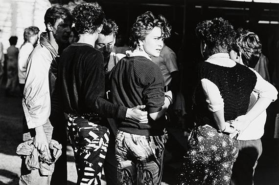 Christian Borchert Kamenzer Forstfest, 1986Silbergelatineabzug25,2 x 37,7 cmStaatliche Kunstsammlungen Dresden, Kupferstich-Kabinett© SLUB Dresden I Deutsche Fotothek