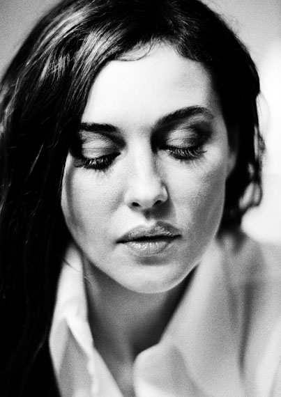 Monica Bellucci, Berlin, 2001 © Birgit Kleber