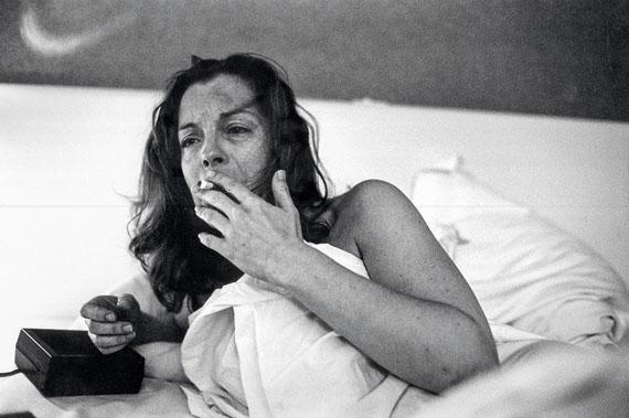 Romy Schneider in Quiberon, 1981 © Robert Lebeck