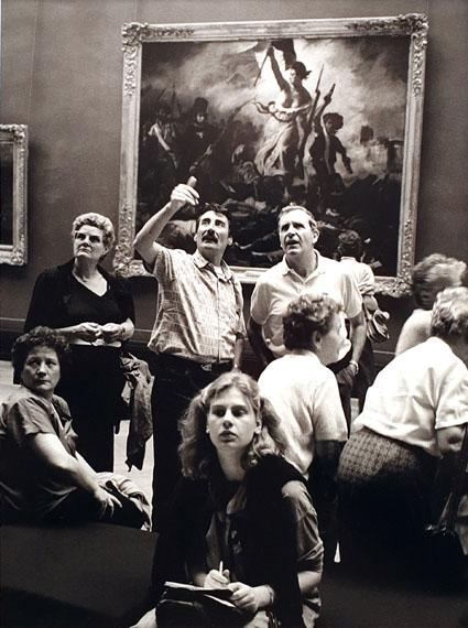 Barbara Klemm: Paris, Louvre, 1987