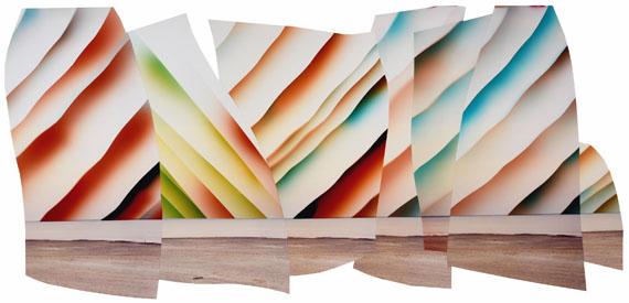 Chloe SELLSThe Nare, 2017C-type print collage90 x 176 cmUnique© Chloe Sells / Galerie Miranda