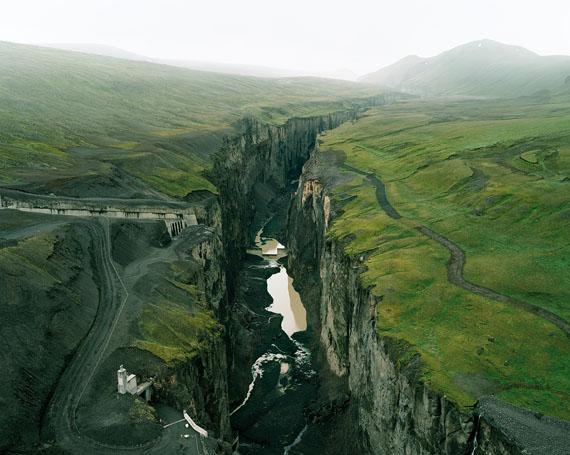 A Canyon of Jökulsá á Brú, 2010 © Olaf Otto Becker