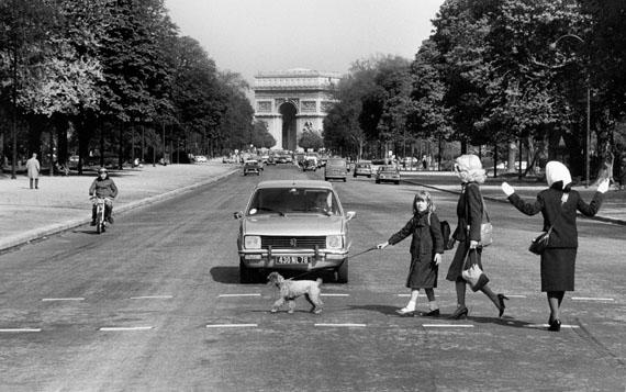 Roger Melis: Avenue Foch, Paris 1982© Nachlass Roger Melis / Mathias Bertram