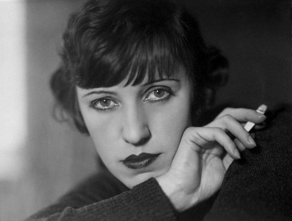 Lotte Jacobi: Schauspielerin Lotte Lenya, Berlin, 1928 