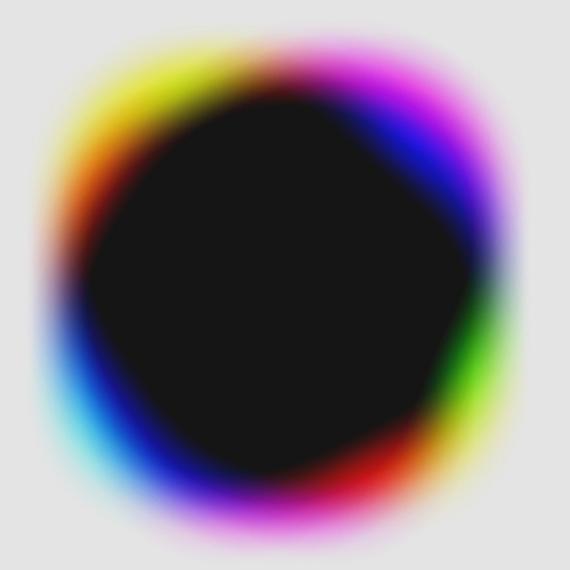 Rotations 5.4.0–5.4.5 , 1971, series of six unique chromogenic prints, 7 x 7 in., unique © Gottfried Jäger