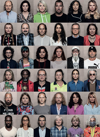 FACES OF EUROPE