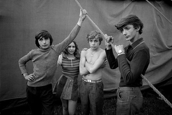 "Ute MahlerAue, Circus Hein, from the series ""Living together"", 1973© Ute Mahler"
