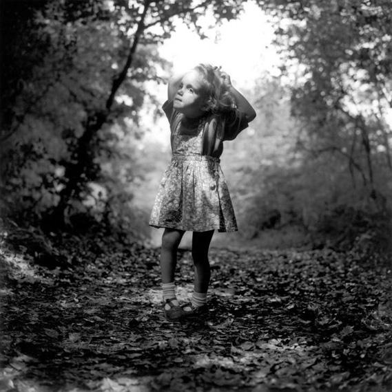 Pauline, Forest of Broceliande, 1989 © Hugues de Wurstemberger