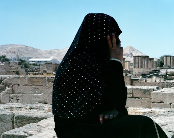 Valérie Jouve - Untitled (The characters with Um'Hassan), 2011-12.from PHOTOGRAPHERS GRADUATES OF THE ENSP