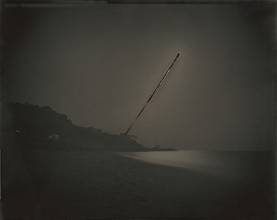 Chris McCaw: Sunburned GSP#225 (Pacific Ocean/LA), 2008, 16