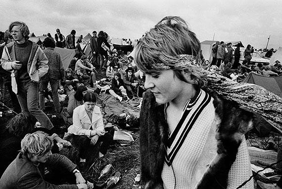 Frauke Bergemann: Fehmarn 1970 – Festivalbesucher im Gelände