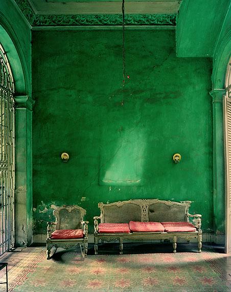 Green Interior 2002 © Michael Eastman