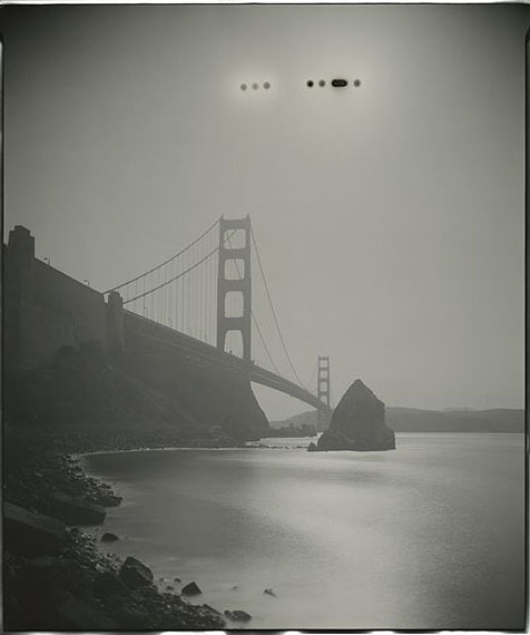 "GSP#299, 20""x24"" unique paper negative, San Francisco, 2008"