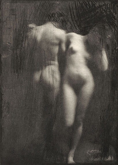Frank Eugene (Smith) Adam and Eve 1898/99 (published in: Camera Work, 1910) © Kunstbibliothek, Staatliche Museen zu Berlin