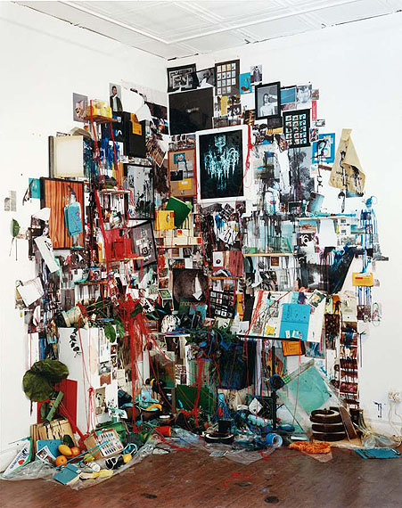 Everything In The Studio (Destroyed),  2012 Mixed media installation © Sara Cwynar / courtesy of COOPER COLE, Toronto, Canada