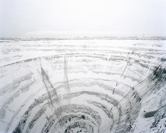 Gregor Sailer: Mirny Diamond Mine, Yakutia, Russia, 2011© Gregor Sailer