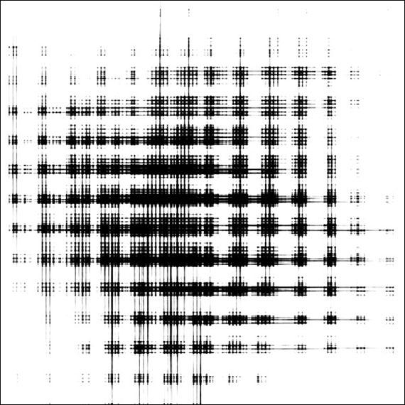 Falk von TraubenbergRONI HORN, aus der Serie textur portraits, 201130 x 30 / 60 x 60 / 120 x 120 cm, 7/5/3 + je 2apFotoabzug aufgezogen auf Aludibond© Falk von Traubenberg