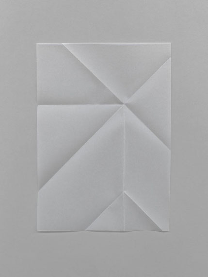 Samuel Henne »untitled #05«, aus »relief folds«, 201180 x 60 cm, Fine Art Print in Betonrahmen