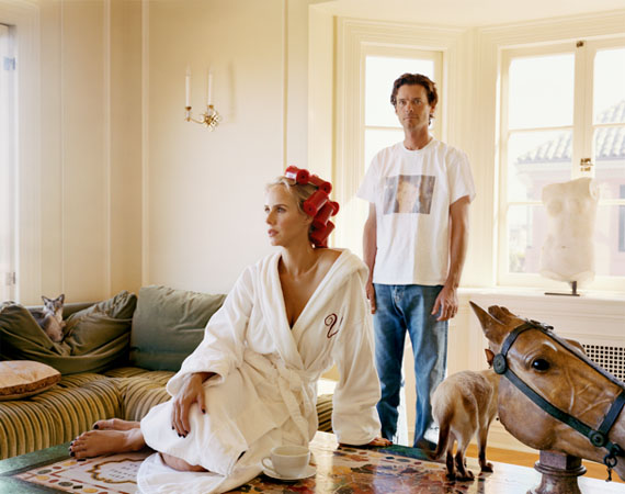 Vanessa und Bill Getty, 2007-2008, aus SF Society, 127 x 152 cm