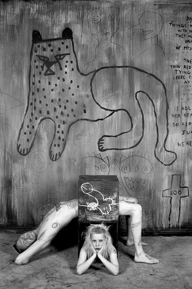 Roger Ballen, Pielie from Die Antwoord, 2012, archival pigment print, 31 x 21cm, edition of 50