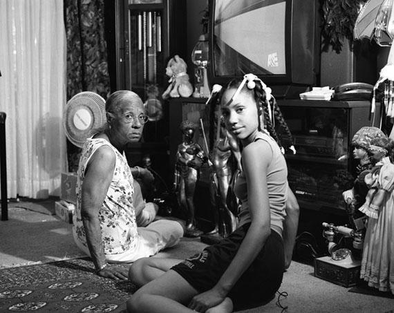 LaToya Ruby Frazier (American, b. 1982). Grandma Ruby and Me, 2005. Gelatin silver photograph, 15 ½ x 18 ½ in. (39.4 x 47cm). Brooklyn Museum, Emily Winthrop Miles Fund, 2011.63.1. © LaToya Ruby Frazier