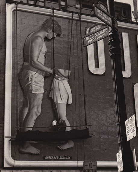 Billboard, Times Square, New York, 1948 © Fred Stein