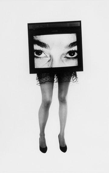 Lynn Hershman: TV Legs #1, 1988, 123 x 86,5 cm
