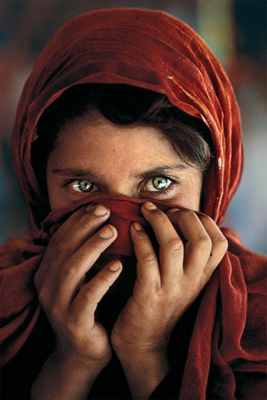 Afghan Girl Hiding Face, 1984 © Steve McCurry / Magnum Photos