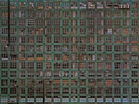 "Michael Wolf: ""INDUSTRIAL ARCHITECTURE #4"" (2005) C-Print. 122 x 162cm - Edition of 9"