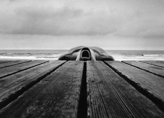 Arno Rafael Minkkinen. Narragansett, Rhode Island, 1973 © Arno Rafael Minkkinen