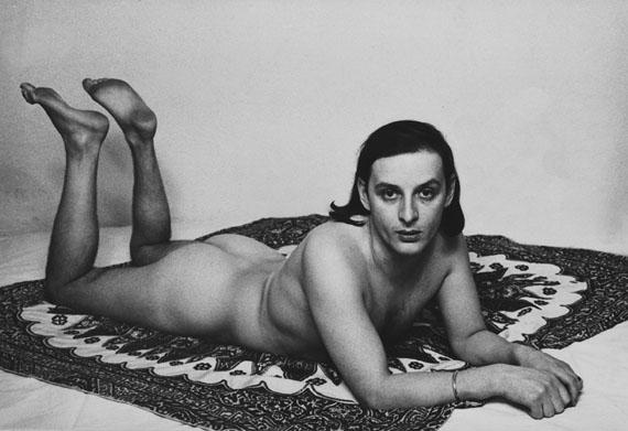 Urs Lüthi: Selfportrait (Detail), 1976