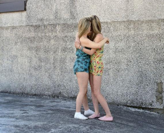 Kirsty and Leah, 2013 © Sarah Mei Herman