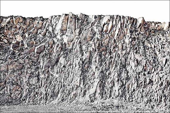Basalt 7907, 100x150 cm, Archival Pigment Print auf Hahnemühle Fine Art Baryta© Peter Braunholz