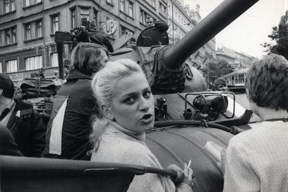 IAN BERRYCzechoslovakia. Prague. 1968.Vintage Silver Gelatin Print11¾ x 7½ inches© Ian Berry / Magnum Photos