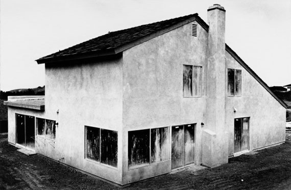 Lewis Baltz: Tract House no. 4, The Tract Houses, 1969-1971 Paris, Collection particulère © Lewis BaltzCourtesy Galerie Thomas Zander, Cologne