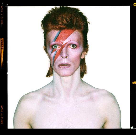 »David Bowie. Aladdin Sane« (Open Eyes) © Brian Duffy