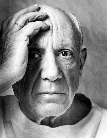 Arnold Newman: Pablo Picasso, Vallauris, France, 1954