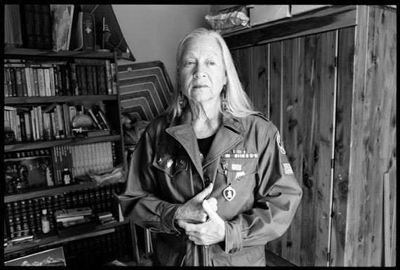 Marissa Roth: Sarah Blum, Vietnam War Army Nurse Based in Cu Chi, from 1967-68, Auburn, Washington 2012